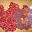 Отдается в дар Теплые вязанные носки