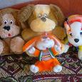 Отдается в дар игрухи мягкие- семья собак