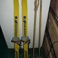 Отдается в дар лыжи детские новые-старые(1980 какого то года)