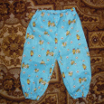 Отдается в дар Детские штаны из ситца, длина 50 см