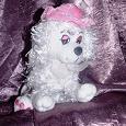 Отдается в дар Мягкая игрушка собачка в шляпе