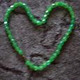 Отдается в дар Зелёные Бусики