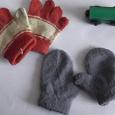 Отдается в дар Варежки и перчатки для малыша