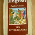 Отдается в дар Десять негритят Агаты Кристи на английском