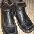 Отдается в дар мужские зимние ботинки