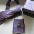 Отдается в дар набор: галстук, платочек, запанки