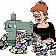 Отдается в дар Мелкий ремонт одежды