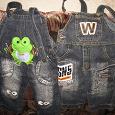 Отдается в дар джинсики на 1,5-2 годика