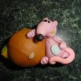 Отдается в дар магнит Мышка с сендвичем