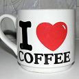 Отдается в дар чашка любителю кофе