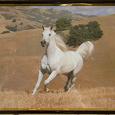 Отдается в дар Картина с лошадью