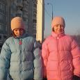 Отдается в дар Куртки-пуховики на девочек 11-12 лет