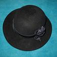 Отдается в дар Шляпа черная