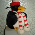 Отдается в дар пингвин в шарфике
