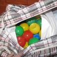 Отдается в дар шарики для детской палатки
