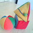 Отдается в дар Развивающие игрушки «Мякиши» для малышей