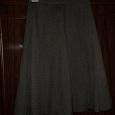 Отдается в дар Крутая классическая юбка серая 42 — 44