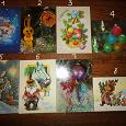 Отдается в дар Советские новогодние открытки в коллекцию