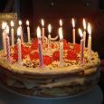 Отдается в дар свечи для торта