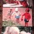 Отдается в дар Винтажные открытки с детками