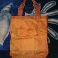 Отдается в дар сумка оранжевая
