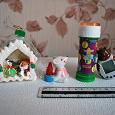 Отдается в дар По мелочи: домик сахарный, мышка со свечкой, мыльные пузыри и тамагочи