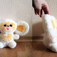 Отдается в дар мягкая игрушка чебурашка-альбинос