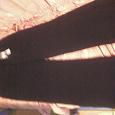 Отдается в дар брюки женские 38р-р(на44)т.синие