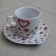 Отдается в дар Кофейная пара «Для влюблённых в кофе»