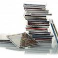 Отдается в дар диски с музычкой