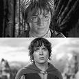 Отдается в дар ДВД диск 7 в1 Гарри Поттер(4 части) и Властелин колец (3 части)