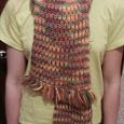 Отдается в дар шапочка для девочки и шарфик