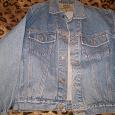 Отдается в дар Куртка джинсовая 48-50