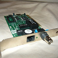 Отдается в дар Сетевая карта PCI 10 Mb