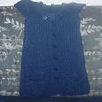 Отдается в дар свитер -жилетка -платье