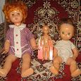 Отдается в дар куклы для реставрации.