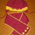 Отдается в дар Шапка и шарф на девочку 1,5-2 года