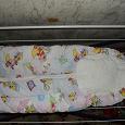 Отдается в дар Теплый конверт на синтепоне для новорожденного