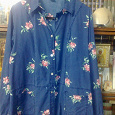 Отдается в дар Блузка рубашка кардиган женский, р-р 50+