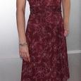 Отдается в дар Бордовое платье летнее
