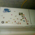 Отдается в дар Холодильник частично не работающий