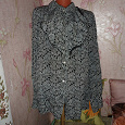 Отдается в дар блузка 54-56 размер.