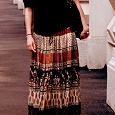 Отдается в дар Индийская юбка в пол