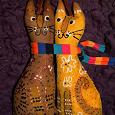 Отдается в дар Влюбленные Коты Ароматные игрушки ручной работы