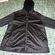 Отдается в дар Двухсторонняя куртка-плащ для отдыха на природе