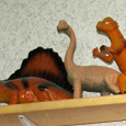 Отдается в дар Коллекция динозавриков