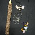 Отдается в дар Карандаш для коллекционеров, кулоны и камушки подвесочки