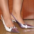 Отдается в дар туфли на высоком каблуке р.37 (на 36)