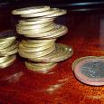 Отдается в дар 10 рублей юбилейка-биметалл 35 шт.