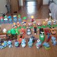 Отдается в дар Коллекция игрушек из киндера.
